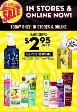 Beauty & Personal Care deals in the Bath & Body Works weekly ad in Dallas TX