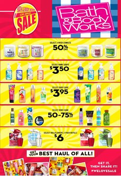 Beauty & Personal Care deals in the Bath & Body Works weekly ad in Glendale CA