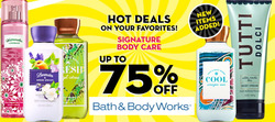 Bath & Body Works deals in the Houston TX weekly ad