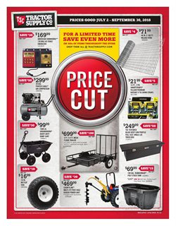 Tractor Supply Company deals in the Lebanon PA weekly ad