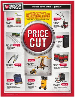Paint deals in the Tractor Supply Company weekly ad in Brockton MA