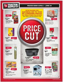 Alarm deals in the Tractor Supply Company weekly ad in Broomfield CO