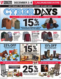Tractor Supply Company deals in the Jackson MS weekly ad