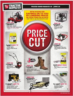 Tractor Supply Company catalogue in Fayetteville NC ( 2 days left )