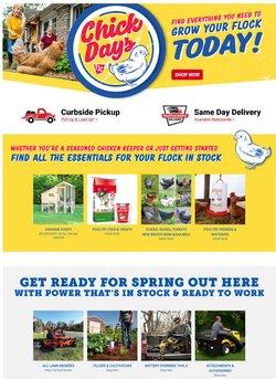 Chicken deals in Tractor Supply Company