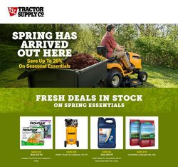 Tractor Supply Company catalogue in Austin TX ( Expired )