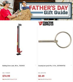 Tractor Supply Company deals in the Tractor Supply Company catalog ( 4 days left)