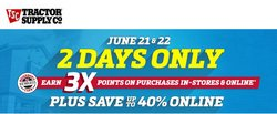 Tools & Hardware deals in the Tractor Supply Company catalog ( Expires tomorrow)