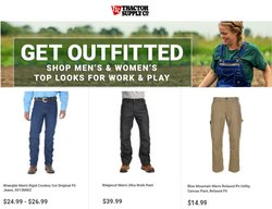 Tools & Hardware deals in the Tractor Supply Company catalog ( Expires today)