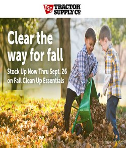 Tractor Supply Company deals in the Tractor Supply Company catalog ( Expires today)