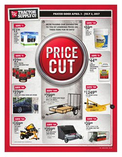 Tractor Supply Company deals in the Leesburg VA weekly ad