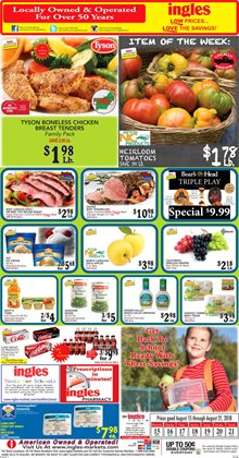 Chicken deals in the Ingles Markets weekly ad in Roswell GA