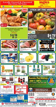 Chicken deals in the Ingles Markets weekly ad in Knoxville TN