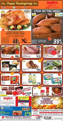 Frozen deals in the Ingles Markets weekly ad in Stone Mountain GA