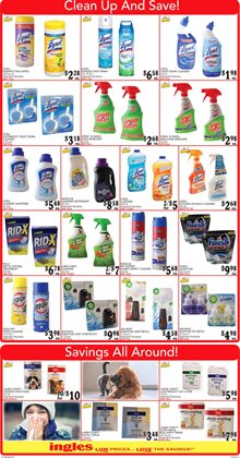 Cleaners deals in the Ingles Markets weekly ad in Acworth GA