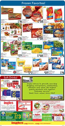 Saw deals in the Ingles Markets weekly ad in Stone Mountain GA