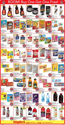 Saw deals in the Ingles Markets weekly ad in Roswell GA