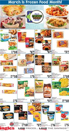 Frozen deals in the Ingles Markets weekly ad in Roswell GA