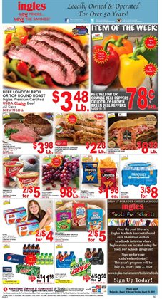 Grocery & Drug deals in the Ingles Markets weekly ad in Stone Mountain GA