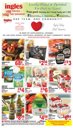 Ingles Markets catalogue in Knoxville TN ( 2 days ago )