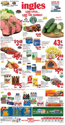 Grocery & Drug offers in the Ingles Markets catalogue in Hickory NC ( Expires today )