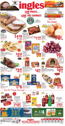 Grocery & Drug offers in the Ingles Markets catalogue in Stone Mountain GA ( Expires tomorrow )