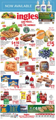 Grocery & Drug deals in the Ingles Markets catalog ( Expires tomorrow)