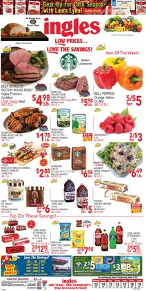 Grocery & Drug deals in the Ingles Markets catalog ( 2 days left)