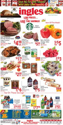 Ingles Markets deals in the Ingles Markets catalog ( 3 days left)