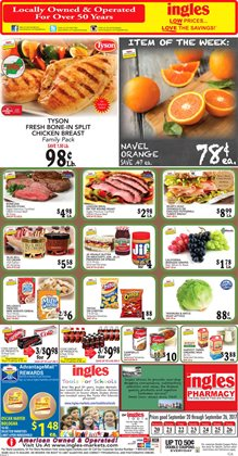 Ingles Markets deals in the Marietta GA weekly ad