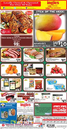 Ingles Markets deals in the Forest Park GA weekly ad