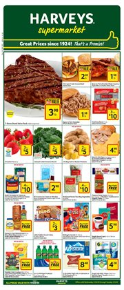 Grocery & Drug offers in the Harveys Supermarkets catalogue in Orange Park FL ( 1 day ago )