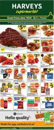 Grocery & Drug deals in the Harveys Supermarkets catalog ( Expires tomorrow)