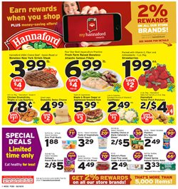 Hannaford deals in the Bangor ME weekly ad
