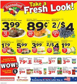 Hannaford deals in the Poughkeepsie NY weekly ad