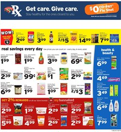 Gel deals in the Hannaford weekly ad in Poughkeepsie NY