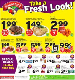 Turkey deals in the Hannaford weekly ad in Poughkeepsie NY