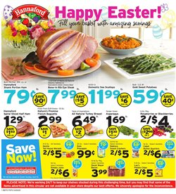 Hannaford catalogue ( Published today )