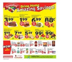 Grocery & Drug deals in the Hannaford catalog ( 3 days left)