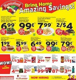 Hannaford deals in the Hannaford catalog ( 3 days left)