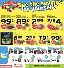 Grocery & Drug deals in the Hannaford catalog ( Expires tomorrow)