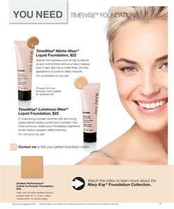 Makeup deals in the Mary Kay weekly ad in New York