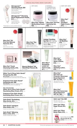 Scrub deals in the Mary Kay weekly ad in New York