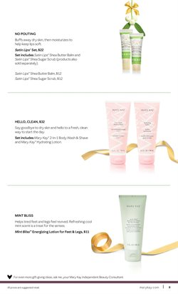 Hydrating lotion deals in the Mary Kay weekly ad in New York