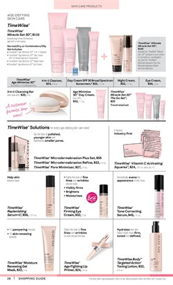 Soap deals in the Mary Kay weekly ad in New York