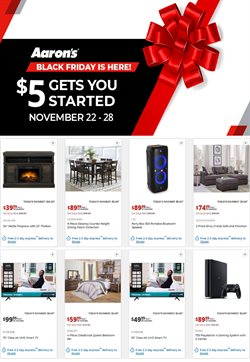 Home & Furniture offers in the Aaron's catalogue in Chattanooga TN ( Expires tomorrow )