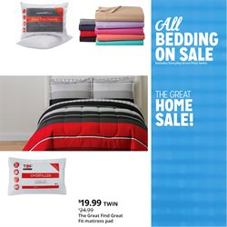 Bed deals in the Kmart weekly ad in New York