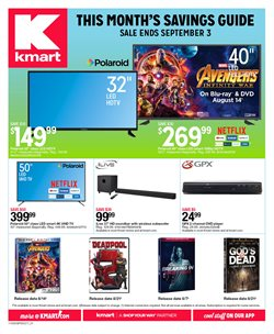 Kmart deals in the Concord CA weekly ad