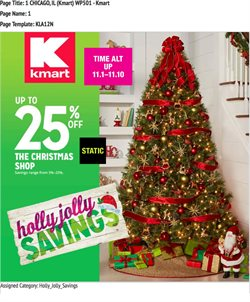 Kmart deals in the Ontario CA weekly ad