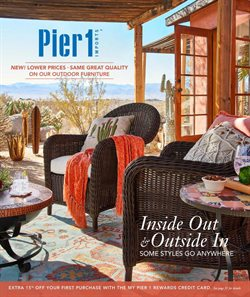 Home & Furniture deals in the Pier1imports weekly ad in Grand Rapids MI